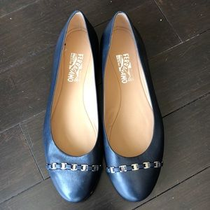 Salvatore ferragamo dress flats